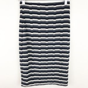 NWT Papermoon Stich fix textured pencil skirt